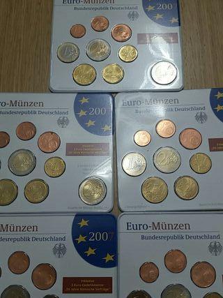 Monedas Alemania. Euros 2007
