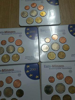 Monedas Alemania. Euros 2002