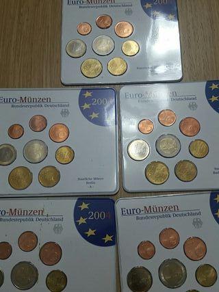 Monedas Alemania. Euros 2004
