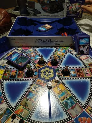 juego Trivial pursuit DVD Disney