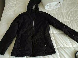 Abrigo + pantalon talla 40 esqui/snow mujer