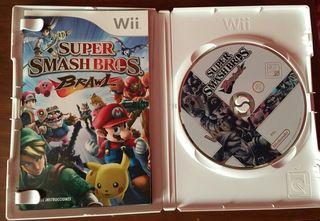 Juego Super Smash Bros Wii