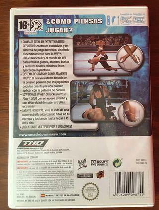 Juego WWE para Wii