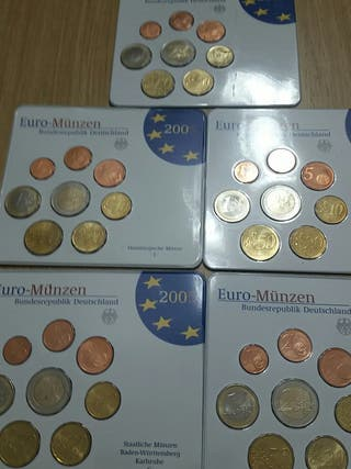 Monedas Alemania. Año 2005