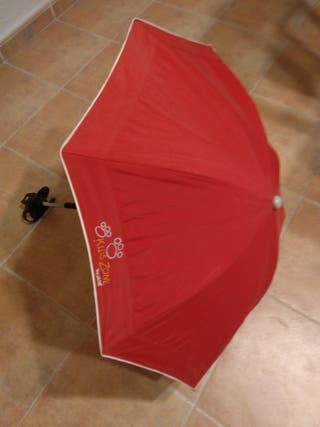 Sombrilla paraguas Jane rojo