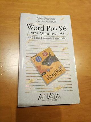 Manual Word Pro 96