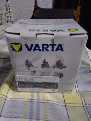 batería Varta para moto sin uso