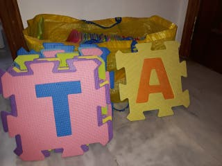 Alfombra puzzle niños y bebes