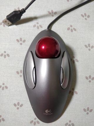 raton trackball Logitech