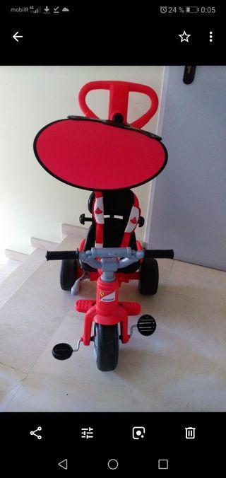 Triciclo Ferrari evolutivo