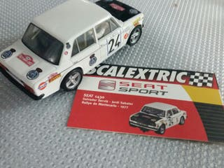 SCALEXTRIC SEAT 1430 RALLY MONTECARLO 1977
