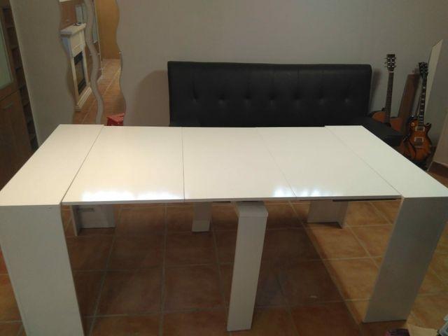 consola, mesa extensible