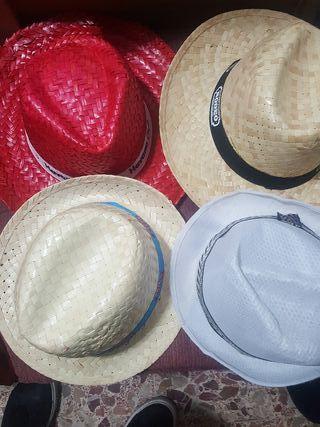 conjunto de sombreros