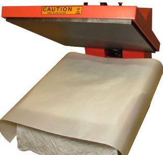 Lámina de teflón para prensa térmica de camisetas