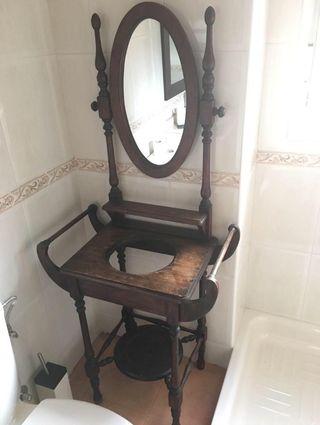 Mueble tocador antiguo