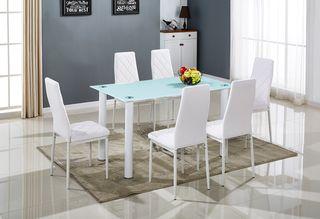 Conjunto de mesa 6 sillas comedor