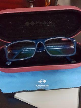 Gafas óptica graduadas.