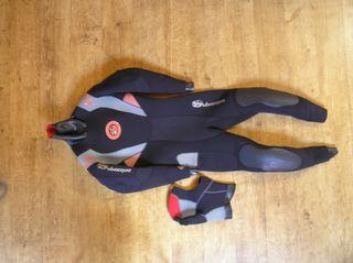 traje submarinismo mujer semiseco