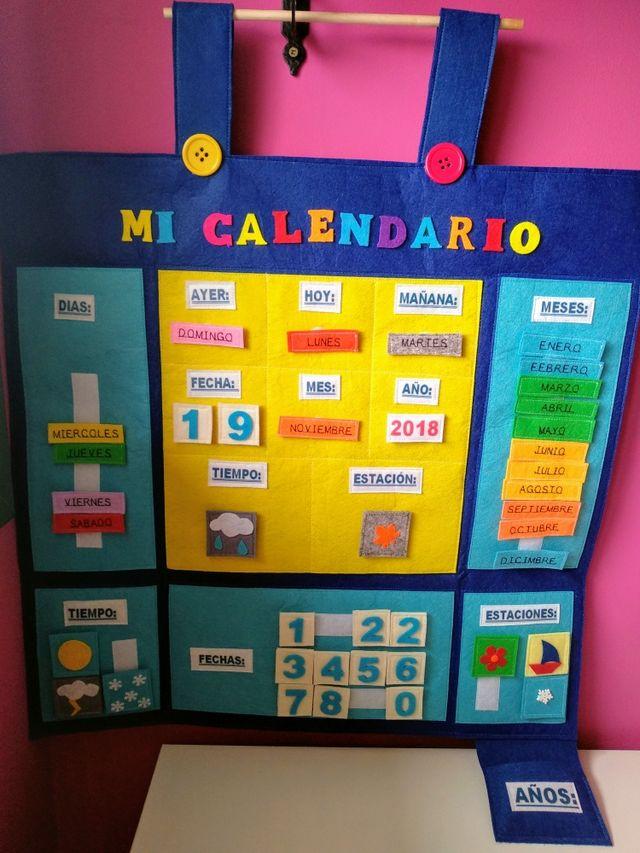 Calendario Montessori.Calendario Montessori O Permanente De Segunda Mano Por 35 En