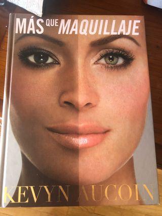 LIBRO MÁS QUE MAQUILLAJE DE KEVYN AUCOIN