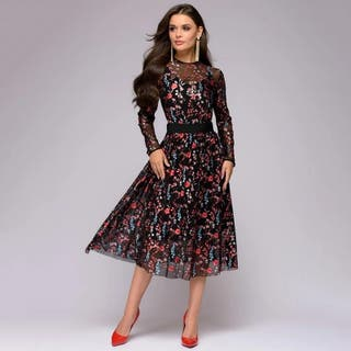 vestido mujer de lujo