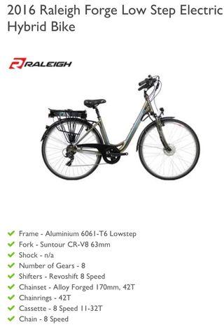 Raleigh Forge Electric Bike