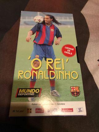 Pelicula Ronaldinho VHS