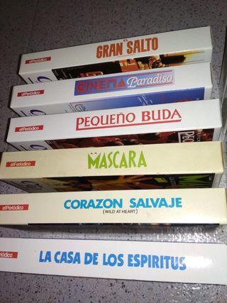 Colección videos VHS años 90 (12), DVD