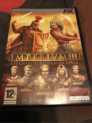Juego pc Imperium 3