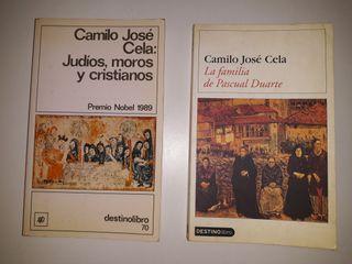 2 libros de Camilo José Cela