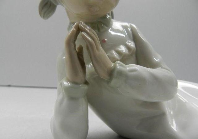 Figura porcelana Zaphir año 1980.