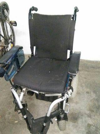 silla de ruedas. silla de rueda eléctrica