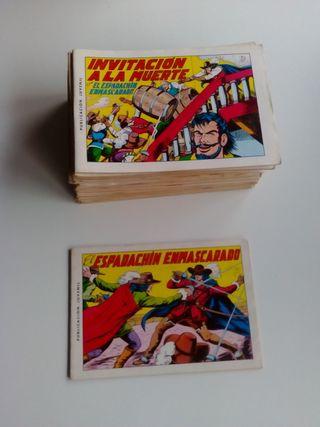 48 comics de El Espadachín Enmascarado.