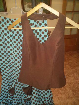 vestido flamenca 2 piezas, molina