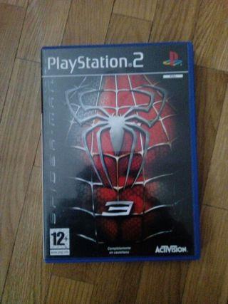 Spiderman 3. Play Station 2