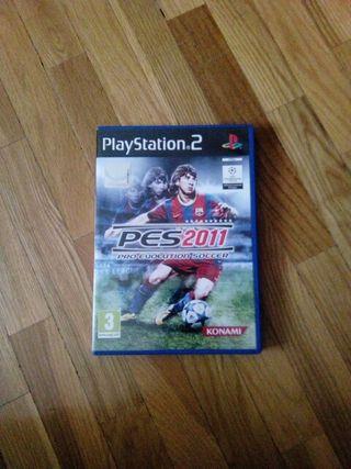 Pro Evolution Soccer 2011 - Pes 11 PS2