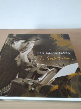 """Libro de Joaquin Sabina """"Con buena letra"""""""