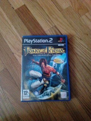 Prince of Persia Las Arenas del Tiempo PS2