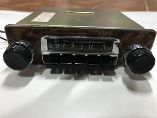 Autorradio antigua