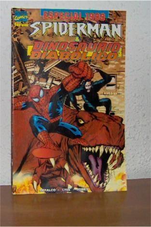 Spider-Man / Dinosaurio diabólico