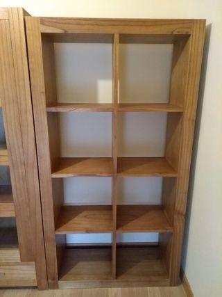 Conjunto muebles sal n de segunda mano por 750 en madrid en wallapop - Muebles segunda mano madrid particulares ...