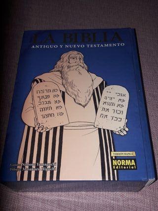 La Biblia Antiguo y Nuevo Testamento en Manga