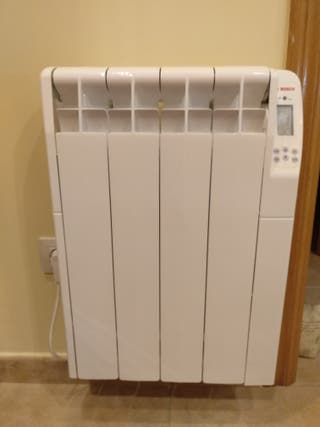 radiadores eléctricos bajo consumo,aún en garantía