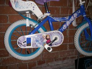 patinete y bicicleta