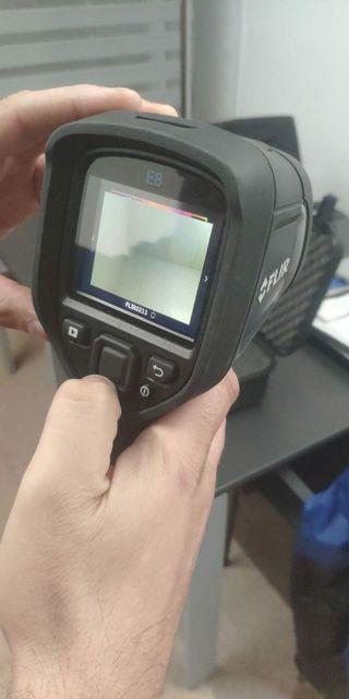 Localizaciones con camara termografica
