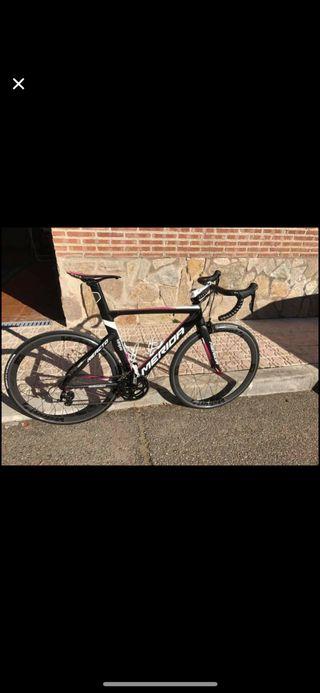 Bicicleta merida reacto 400 Lampre team talla 52