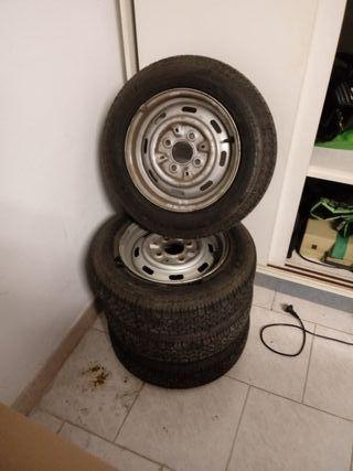 ruedas mini clasico 12