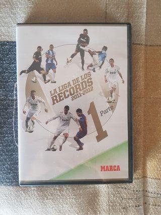 DVD La Liga de los Records 2011-2012 Parte 1