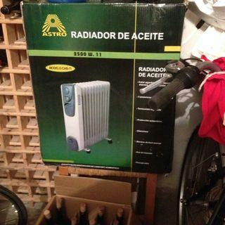 radiador de aceite Astor