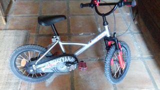 bicicleta de niño 5 años
